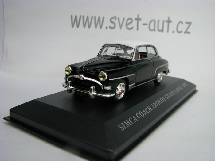 Simca Coach Aronde Grand Large 1955 1:43 Atlas